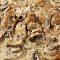 Lithuanian Creamed Mushrooms (Grybai)