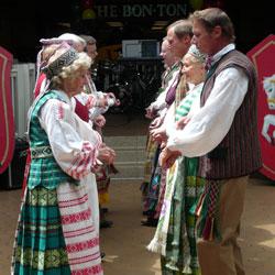 Spektaklis lietuvių liaudies šokių grupė, Žilvinas