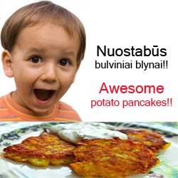 Nuostabūs Bulviniai Blynai!
