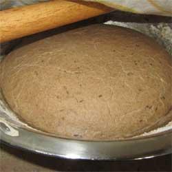 Figure 4A: Dough Proofed Halfway