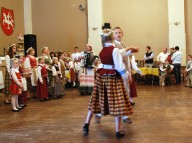 """Varpelis"" dance club of Elizabeth, NJ performs under the direction of Birutė Mockienė"