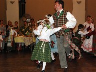 Philadelphia's Lithuanian-American dance club performs under the direction of Estera Washofsky
