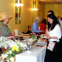 Guests Visit Contestant Chefs To Sample Kugelis