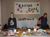 Kavinė Café volunteers offer sumptuous desserts