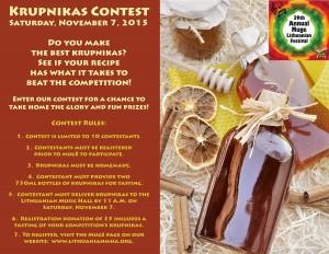 2015 Mugė Krupnikas Contest