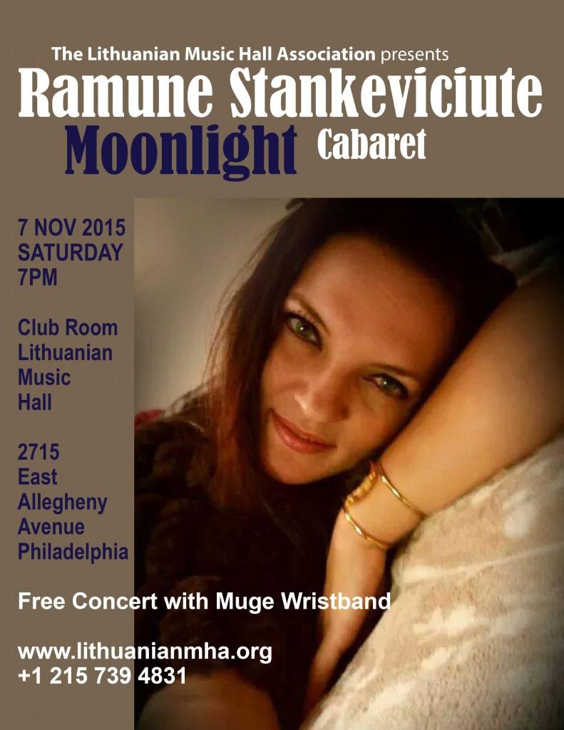 Ramune Stankeviciute Moonlight Cabaret